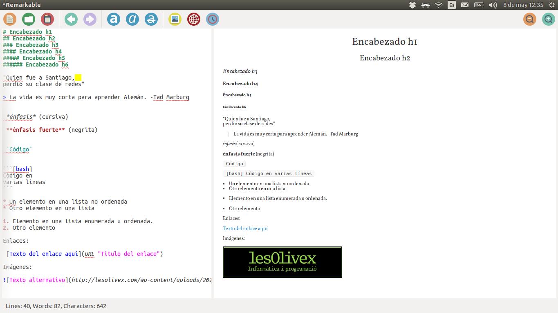Herraminetas para MarkDown en debian/ubuntu